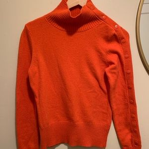 Anthropologie | Moth Cowl Neck Snap Sweater